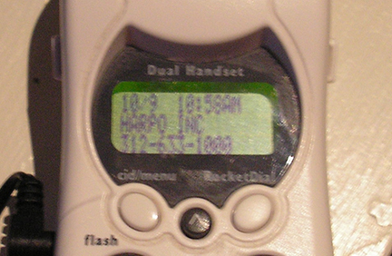 caller id Harpo Studios called me